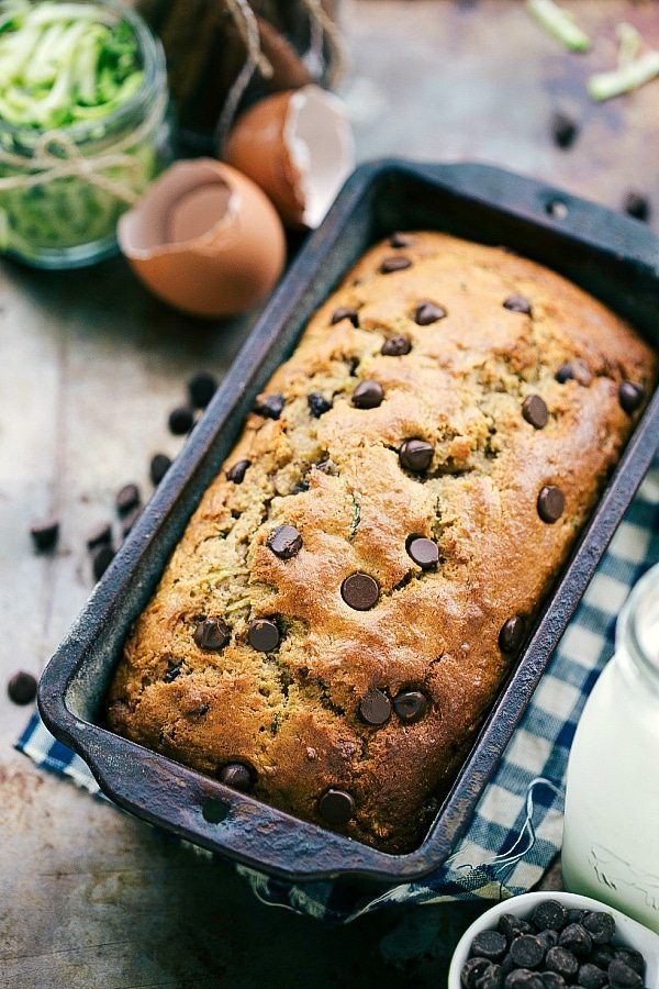 The BEST healthier Greek yogurt zucchini bread