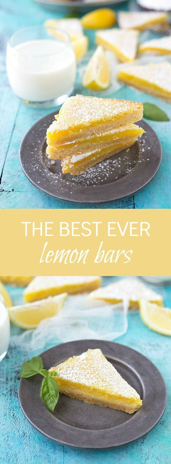 The BEST ever lemon bars - based on a recipe with 1400 reviews!
