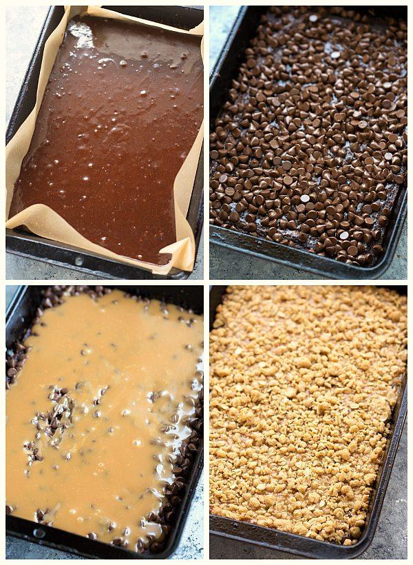 Brownie Cookie Bars (Brookies)