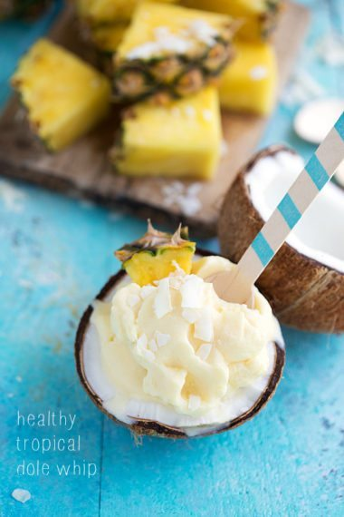 Healthy and Easy Dole Whips