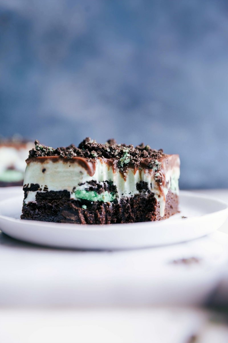 Mint Ice Cream Bars