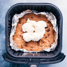 Air Fryer Pizookie