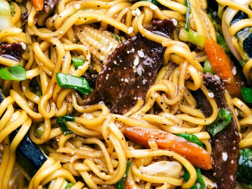 Beef Chow Mein 30 Minutes Chelsea S Messy Apron