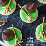 Halloween Melted Witch Cookies
