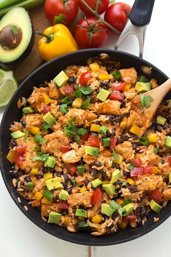 recipe: mexican chicken and rice recipes easy [31]