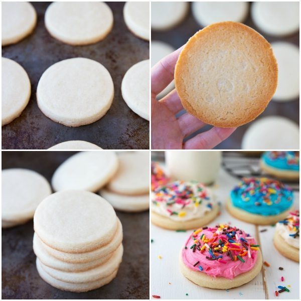 The BEST (No Chill) Sugar Cookies with 2 secret ingredients - makes perfect cut out cookies every time!