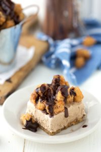 Churro Ice Cream Bars