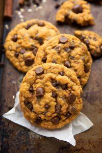 Delicious NON cakey oatmeal pumpkin cookies