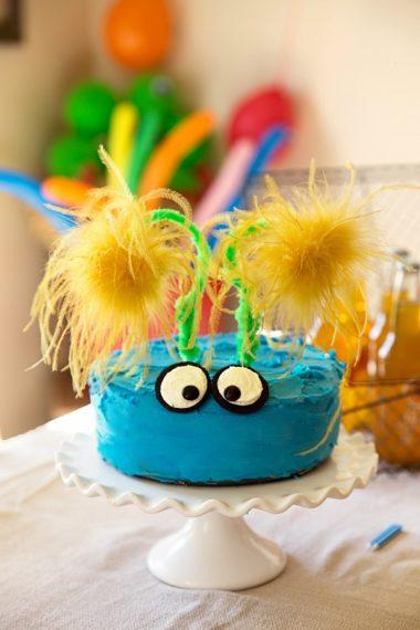 Grey's 2nd Birthday: Monster Themed