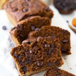 The BEST healthier pumpkin Greek yogurt bread