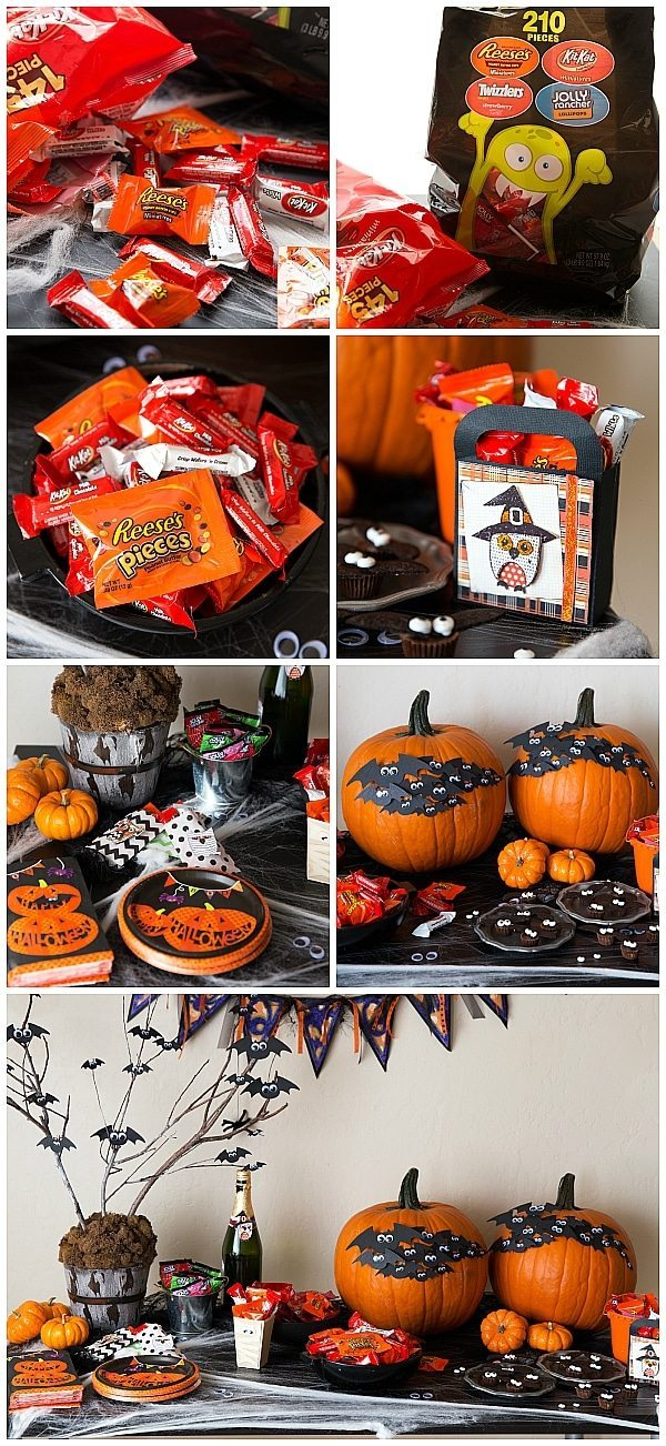 EASY DIY HALLOWEEN PARTY WITH BATS!