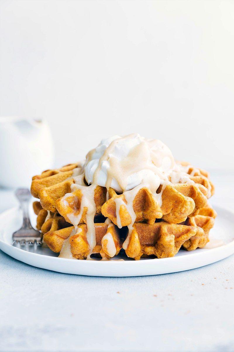 Cinnamon-Pumpkin Waffles