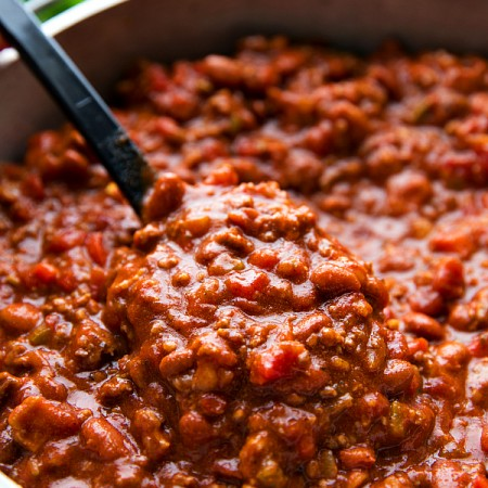 Crockpot Bacon Chili (Video)