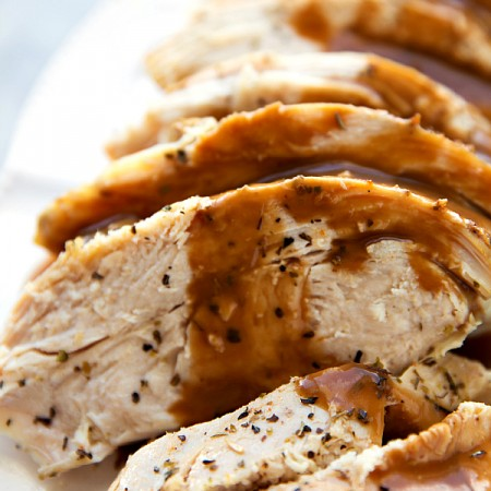 Crockpot Turkey Breast (Video)