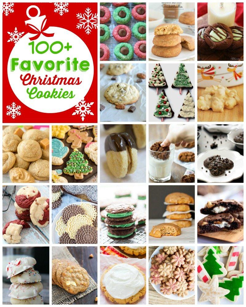 100 Favorite Christmas Cookies - Chelsea's Messy Apron
