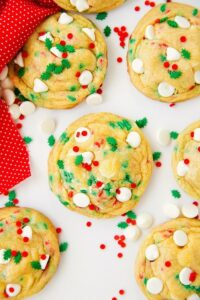 Soft Cake Batter Christmas Cookies