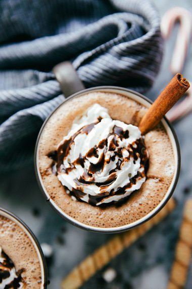 A Hot Chocolate Bar with 2 Hot Cocoa Recipes