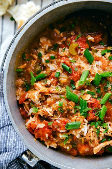 Crockpot Cajun Chicken, Vegetables, and Rice