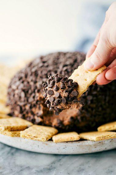 Brownie Batter Cheesecake Ball