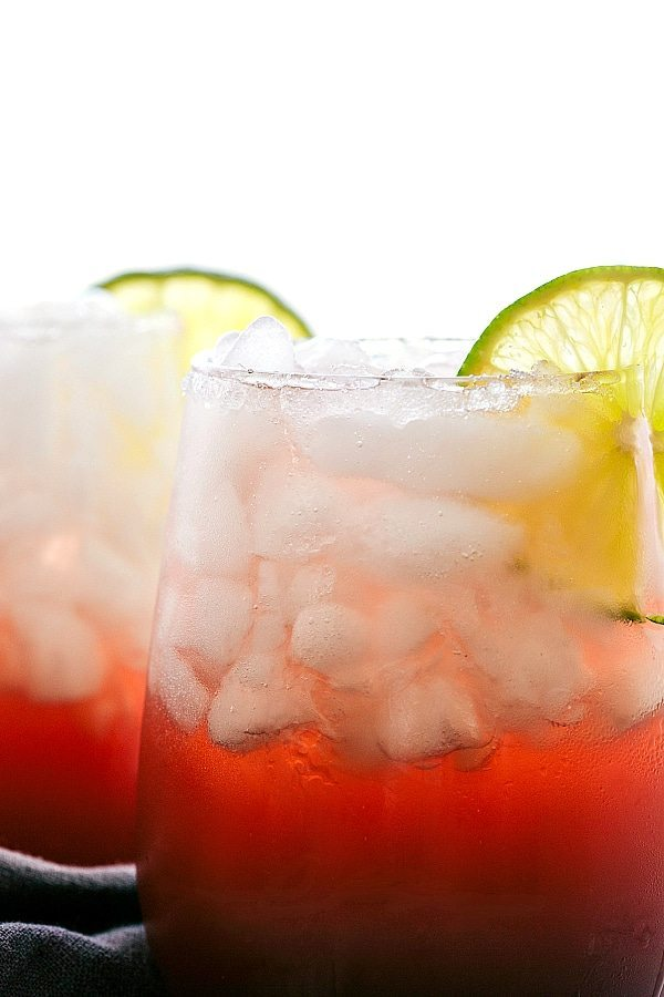 4-Ingredient Sparkling CHERRY LIMEADE WATER
