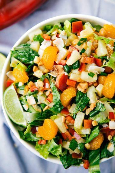 Tropical Pineapple Salad