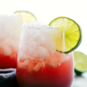 4-Igredient Sparkling CHERRY LIMEADE WATER
