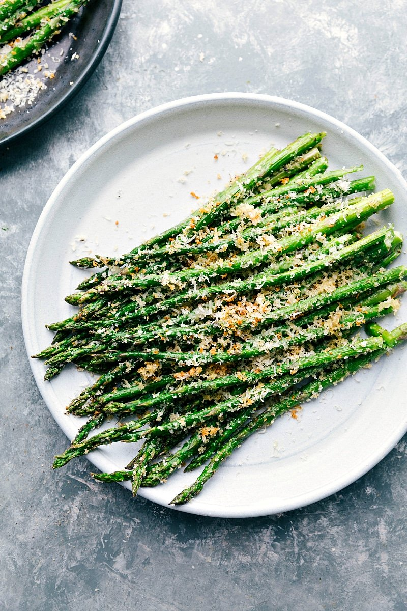 Roasted Asparagus With Parmesan Chelsea S Messy Apron