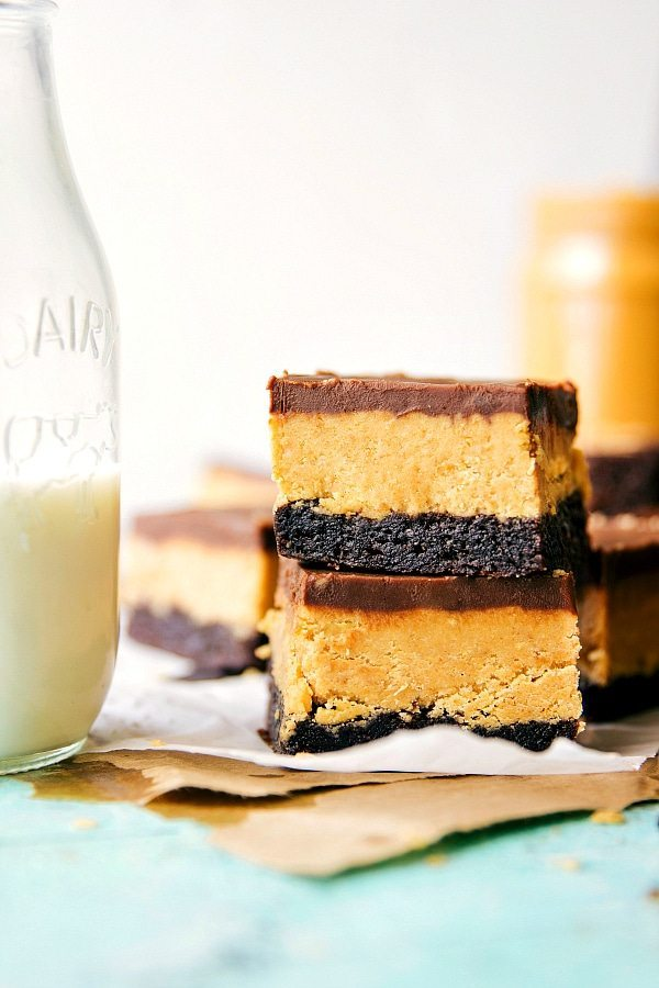 DELICIOUS & SIMPLE PEANUT BUTTER CUP BROWNIES