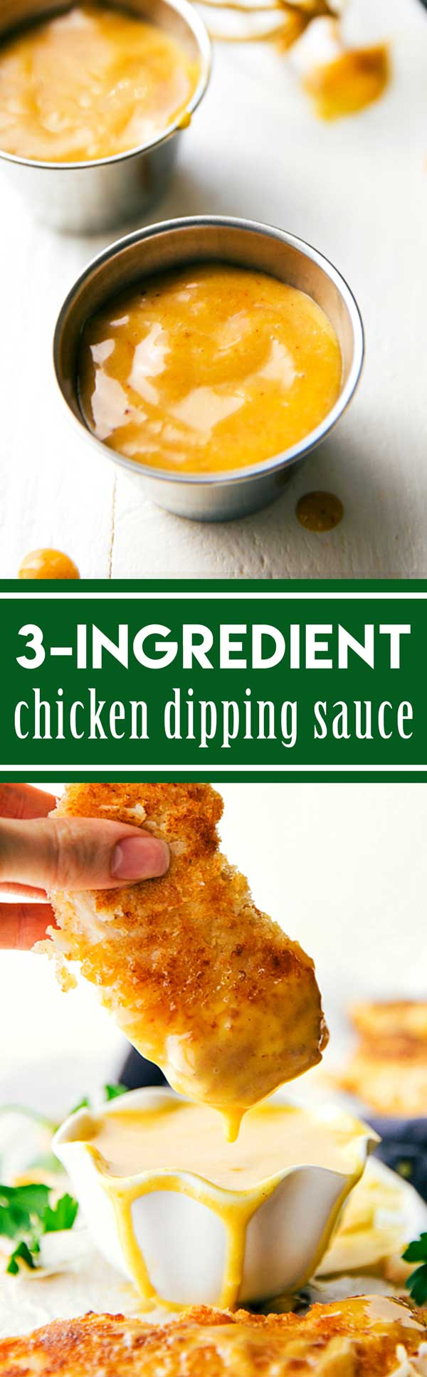 Whisk 3 simple ingredients together to get a delicious chicken dipping sauce similar to the famous honey BBQ Chick-Fil-A sauce