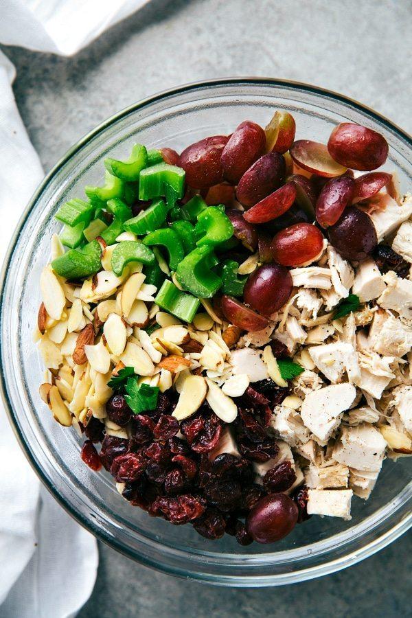 Chicken Salad Sandwiches Lightened up