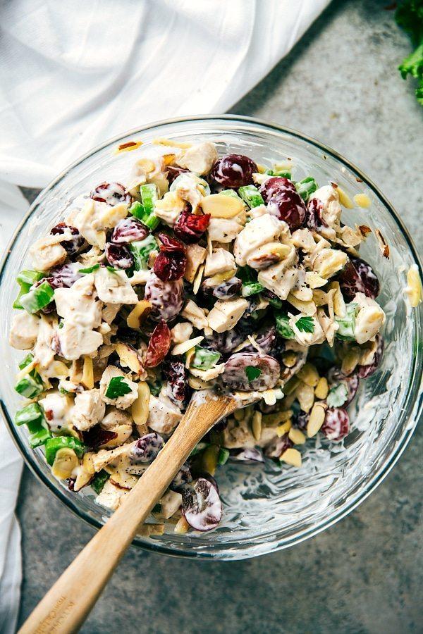 Skinny Chicken Salad Sandwiches