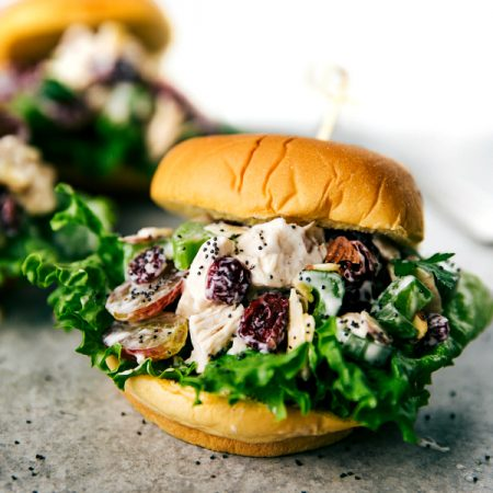Low Calorie Chicken Salad Sandwiches (GIVEAWAY)