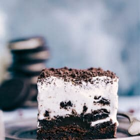 Thin Mint Cheesecake