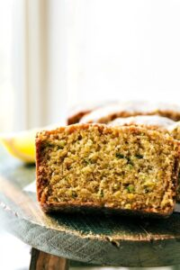 Healthier Lemon GREEK YOGURT Zucchini Bread from chelseasmessyapron.com