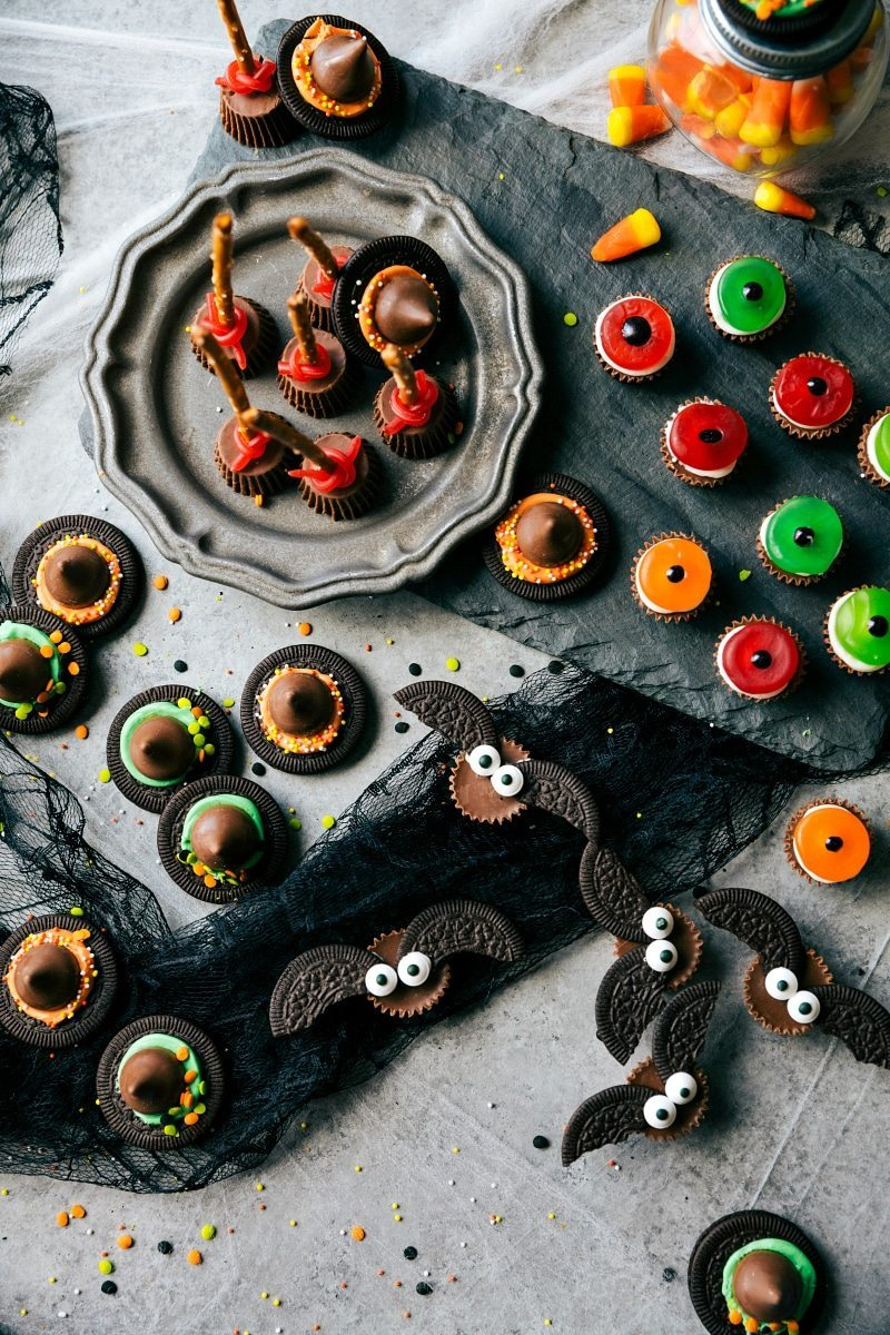 Four ingredient halloween treats chelsea 39 s messy apron for Quick and easy halloween treats to make