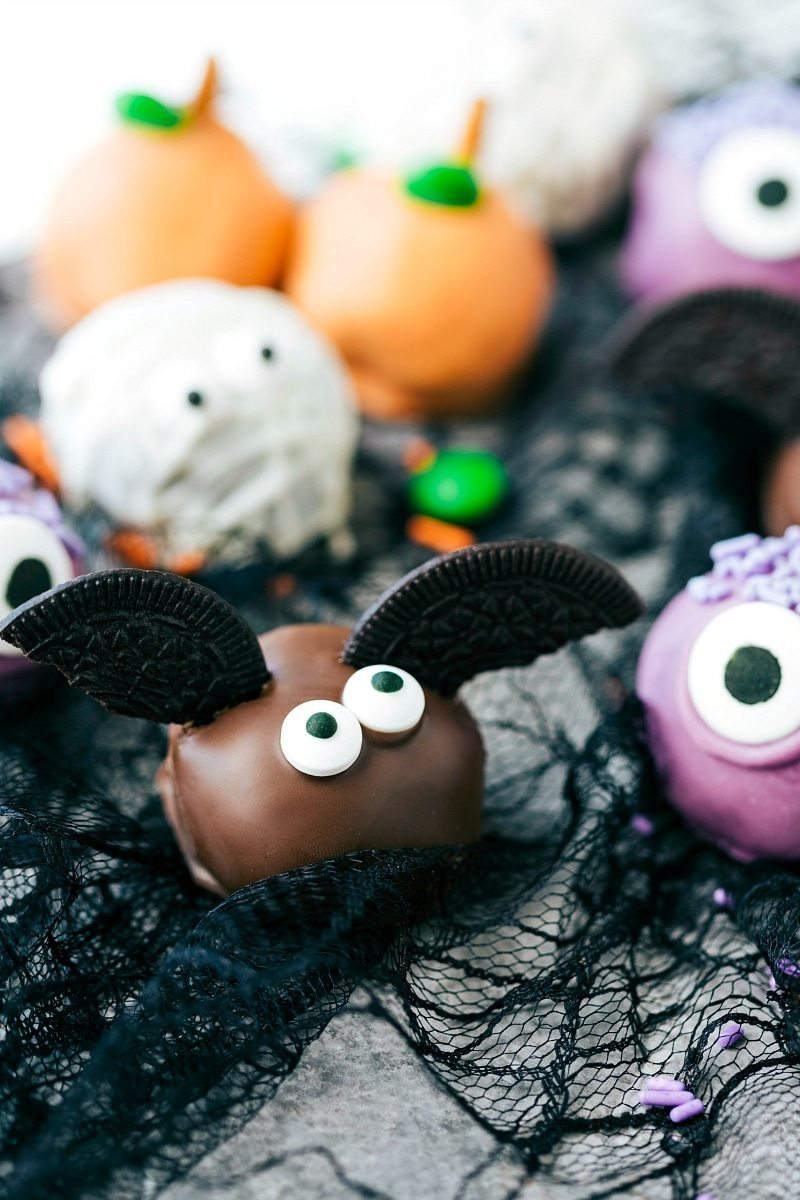 5-Ingredient Halloween Oreo Truffles