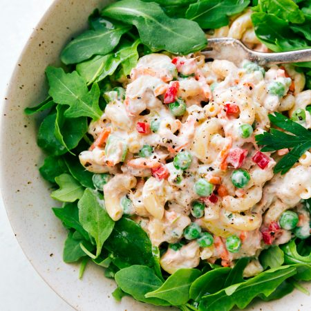 The BEST Macaroni Tuna Salad