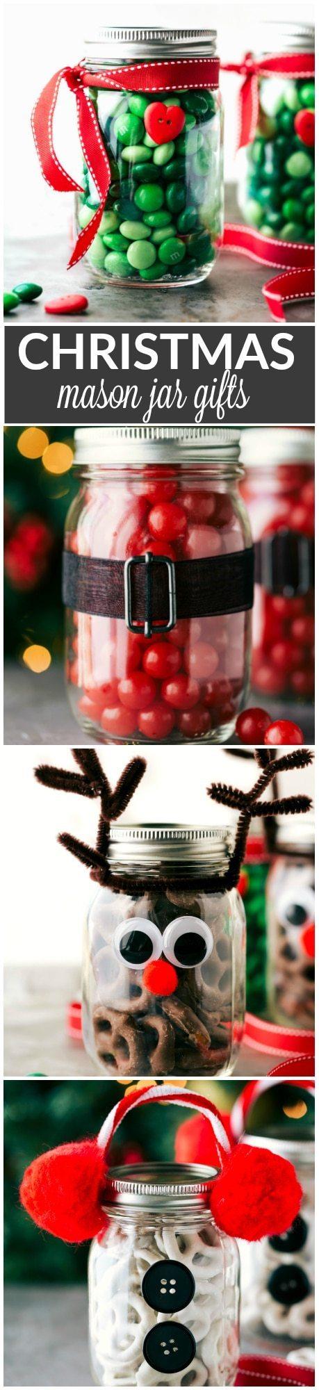 Christmas Mason Jar Gift Ideas | Chelsea's Messy Apron