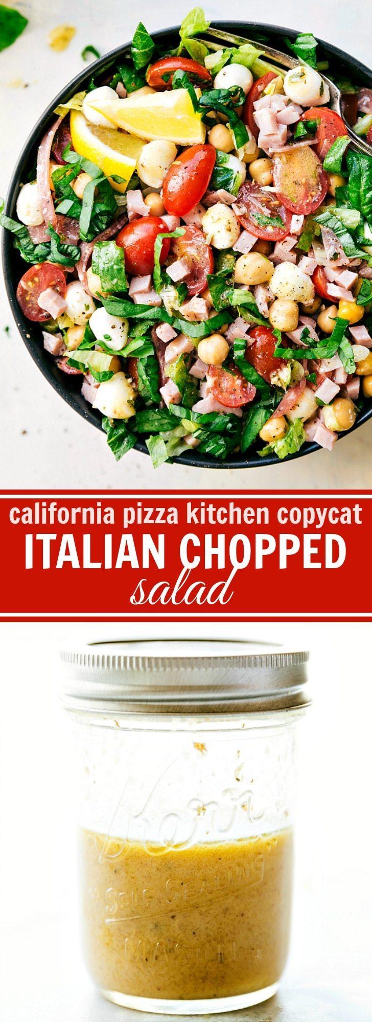 Stupendous Italian Chopped Salad Interior Design Ideas Skatsoteloinfo