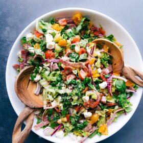 Italian Chopped Salad (CPK Copycat)