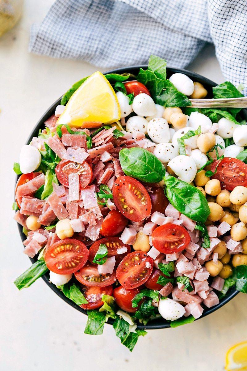 California Pizza Kitchen Italian Chopped Salad Calories