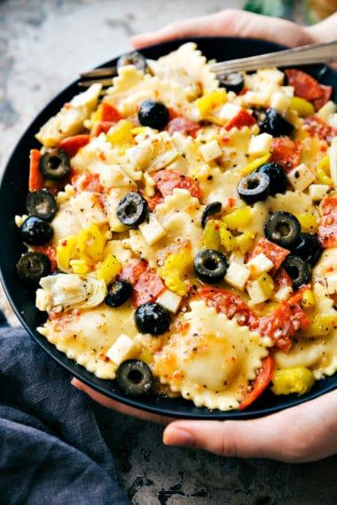 Italian Ravioli Salad
