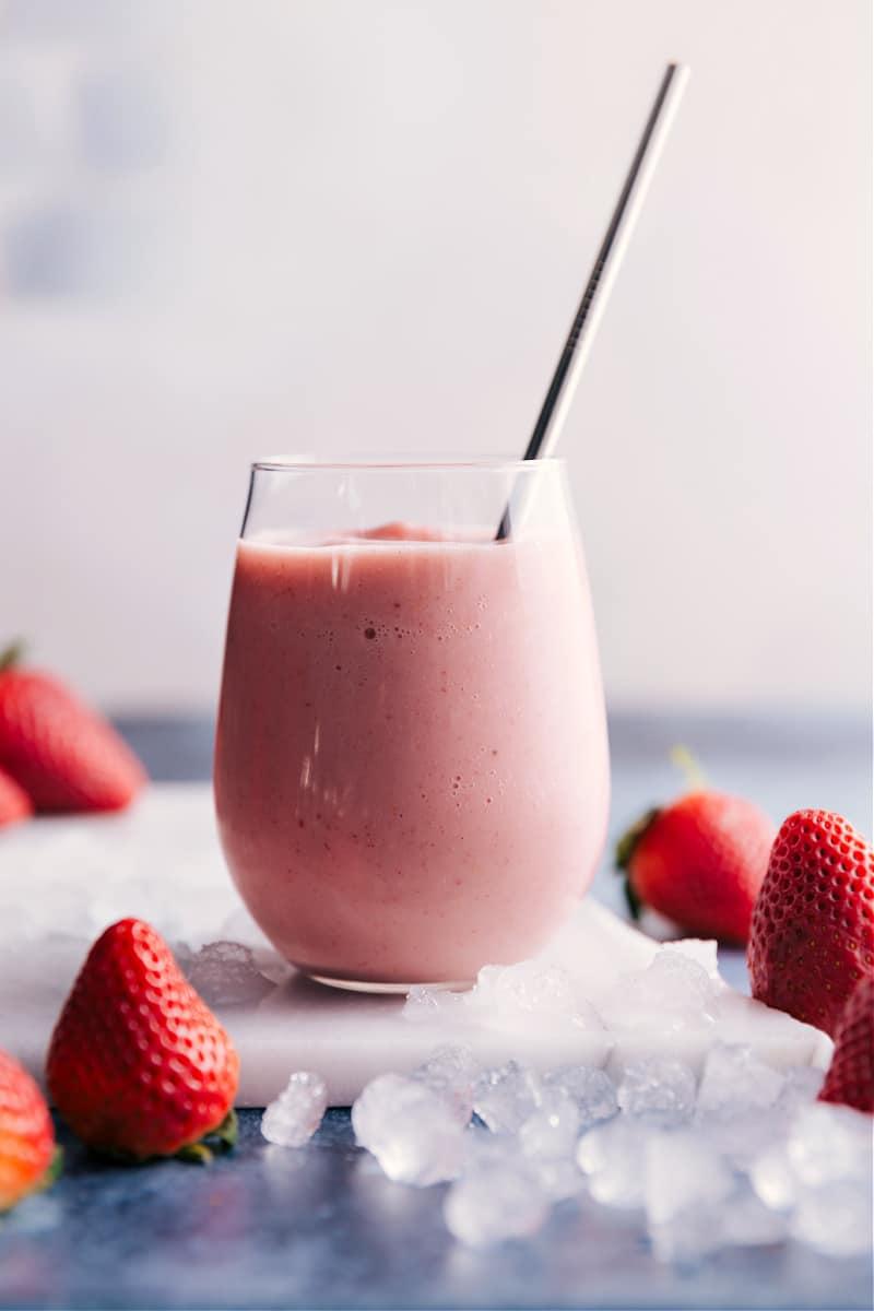 Jamba Juice Strawberry Wild smoothie