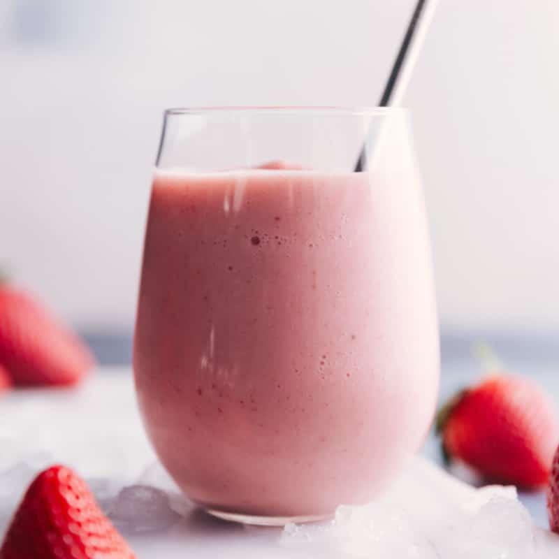 Jamba Juice Strawberry Wild copycat smoothie