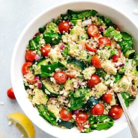 Quinoa and Almond Salad
