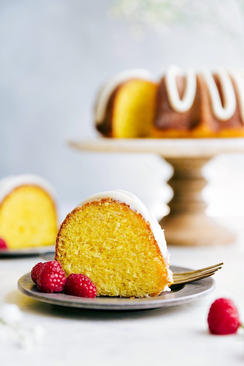 The ultimate lemon bundt cake -- bursting with lemon flavor, moist, and so delicious with the most amazing lemon buttercream frosting. chelseasmessyapron.com