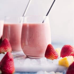 Strawberry Piña Colada