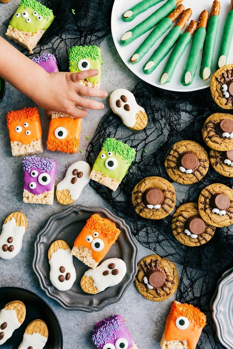 to make these adorable and delicious halloween treats monster