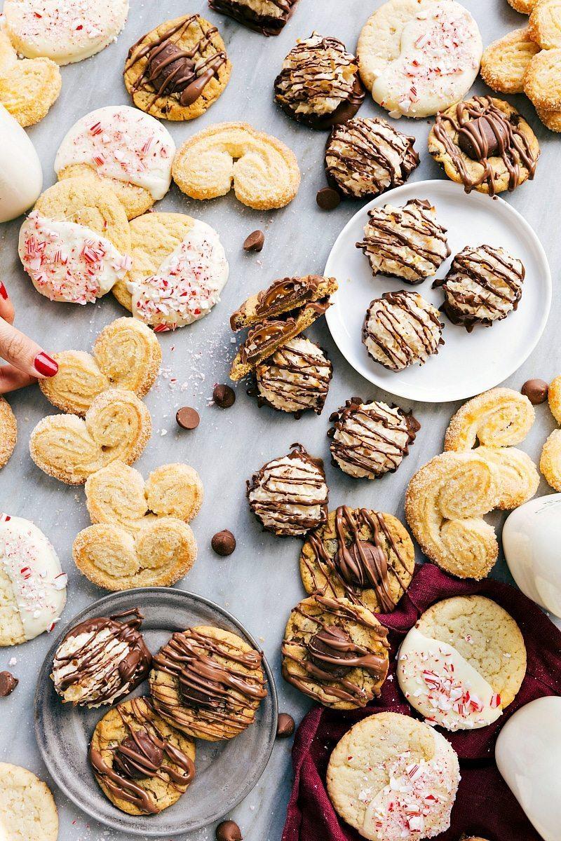 3-Ingredient Christmas Cookies {Free Printables} | Chelsea's Messy Apron