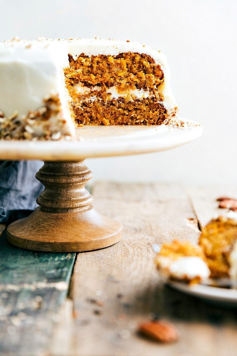 The BEST EVER, raved about Carrot Pumpkin Cake! Delicious, moist, easy to make! chelseasmessyapron.com